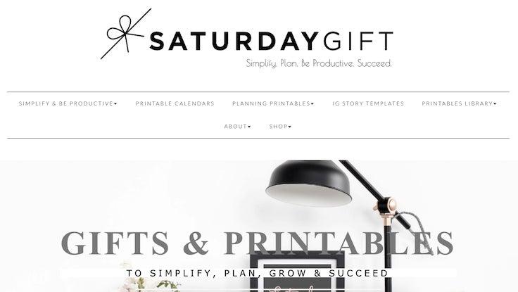 Saturday Gift